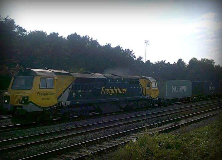 Class 70 70018 Freightliner